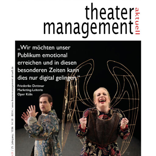 Aktuelle Ausgabe von theatermanagement aktuell erschienen